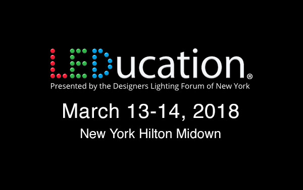LEDucation 2018 Banner