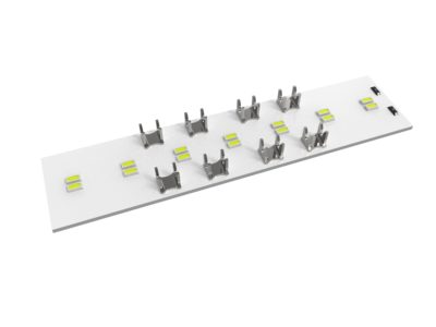 Linear Constant Voltage Intelligent White 76mm x 18mm LED Board