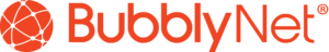 Banner style logo for Bubblynet