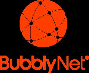 Thumbnail style logo for BubblyNet